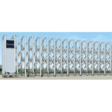 Electric Retractable Single And Double Sliding Gate