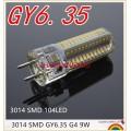 GY6.35 LED Lamps 110V 220V 12V 9W 12W Corn Light Bulb Droplight Chandelier 3014SMD G6.35 Led Bombillas White/Warm white Lamp