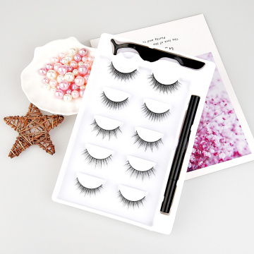3D self-adhesive Magic eyeliner and eyelashes kit