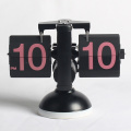European Style Flip Desk Clock with Light