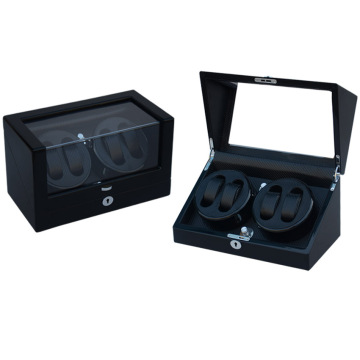 Black Cool Watch Winder Box