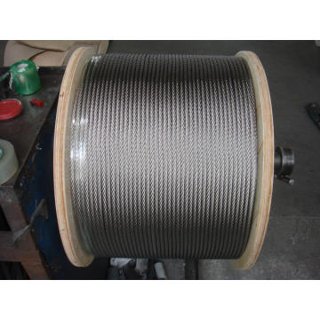 304 stainless steel wire rope 1x19 1.2mm