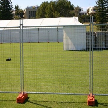 Construction event residential safety temporary fence