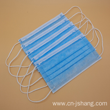 Disposable Nonwoven 3ply Face Mask with Earloop