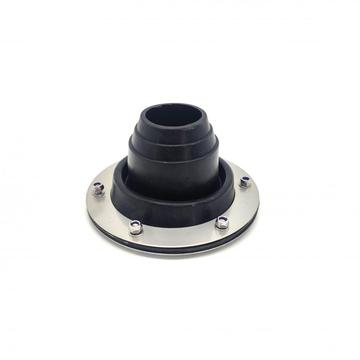 Mini size metal frame roof collar for waterproof