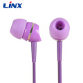 Multiple color in-ear earphones for you good mood