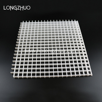 White Plastic Eggcrate Grille 1200mm*600mm