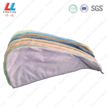 Massge hair effective dry towel sponge