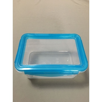 New Fashion Transparent Silicone Cover PP Crisper