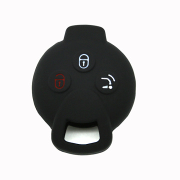 Benz smart fortwo personalized silicon car key cover