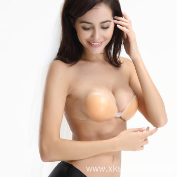 Backless strapless stick on bra silicone bras cups