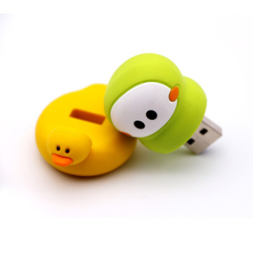 Usb Flash Drive Rubber Duck Yellow