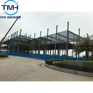 industrial steel structure warehouse building saudi arabia