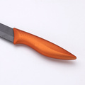 5 Inches Copper Handle Black Ceramic Knife