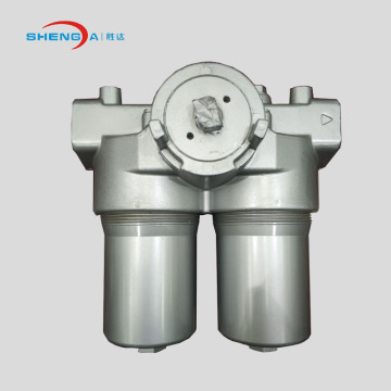 Double Cartridge Duplex Inline Oil Filter