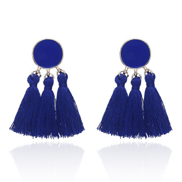 Wholesale womens bohemian tassel earrings