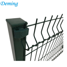 Coated Curving Wire mesh Security 3d Fencing Panels For School