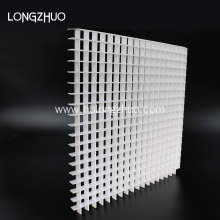 White Plastic ABS Egg Crate Air Vent Mesh