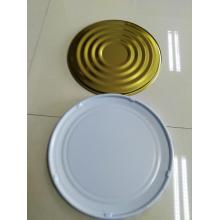 GOLD AND WHITE PRINTING TINPLATE FOR CAN TOP