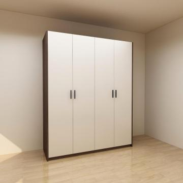 Modern Melamine Bedroom Wardrobe