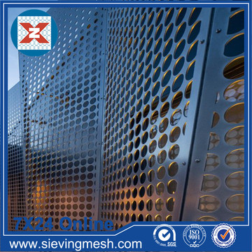 Perforated Metal for Building