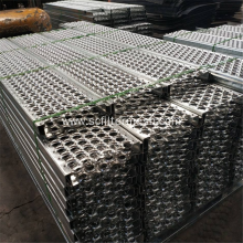 Serrated Metal Safety Grating Industrial Stair Treads