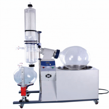 100L stainless steel rotary film evaporator