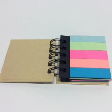 Paper colorful book-shaped sticky note