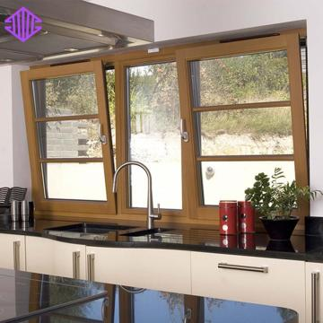 Lingyin Construction Materials Ltd ​New Design Aluminum Double Glazed Window Tilt And Turn Window