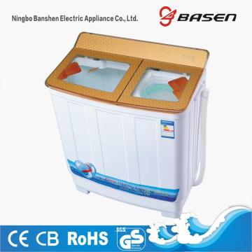 Gold Transparent Glass Cover 9.5KG Washing Machine