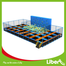 Kids favorite big rectangular  indoor trampoline