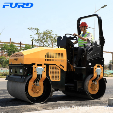 3 ton Road Roller Ride-on Compactor with Hydraulic Vibration Drum