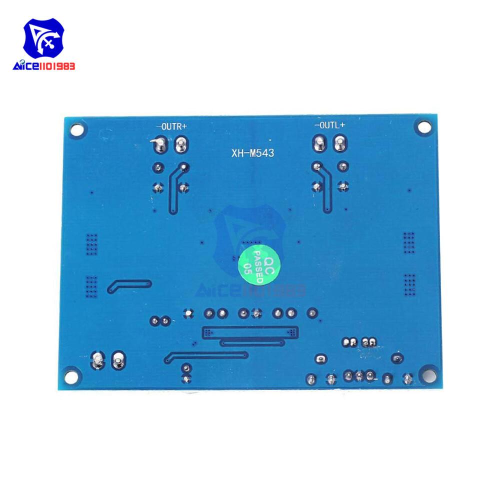 TPA3116D2 TPA3116 Dual Channel Stereo High Power Digital Audio Power Amplifier Board 120W+120W Amplificador Module XH-M543
