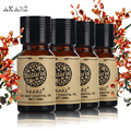 AKARZ Famous brand tea tree castor jojoba lavender Essential Oils Pack For Aromatherapy, Massage,Spa, Bath 4pcs/lot