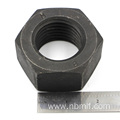 Black Finish Style ISO 4032 Heavy Hexagon Nuts