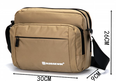 Convenience Multi-layer Waist Pack Urban Recreational Waist Pack Solid Color Waist Pack