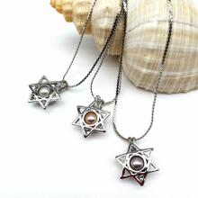 Best Wishes DIY Pearl Cage Pendant Decorations Necklace