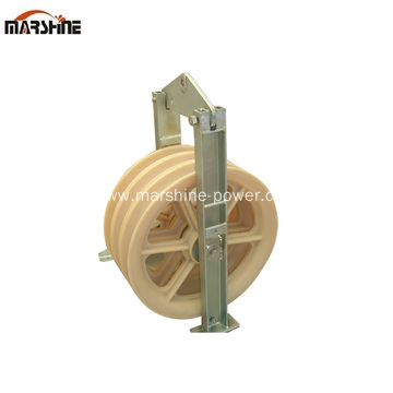 Three Sheaves Stringing Pulley Block