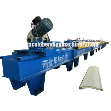 95 PU Foam Rolling Shutter Door Forming Machine