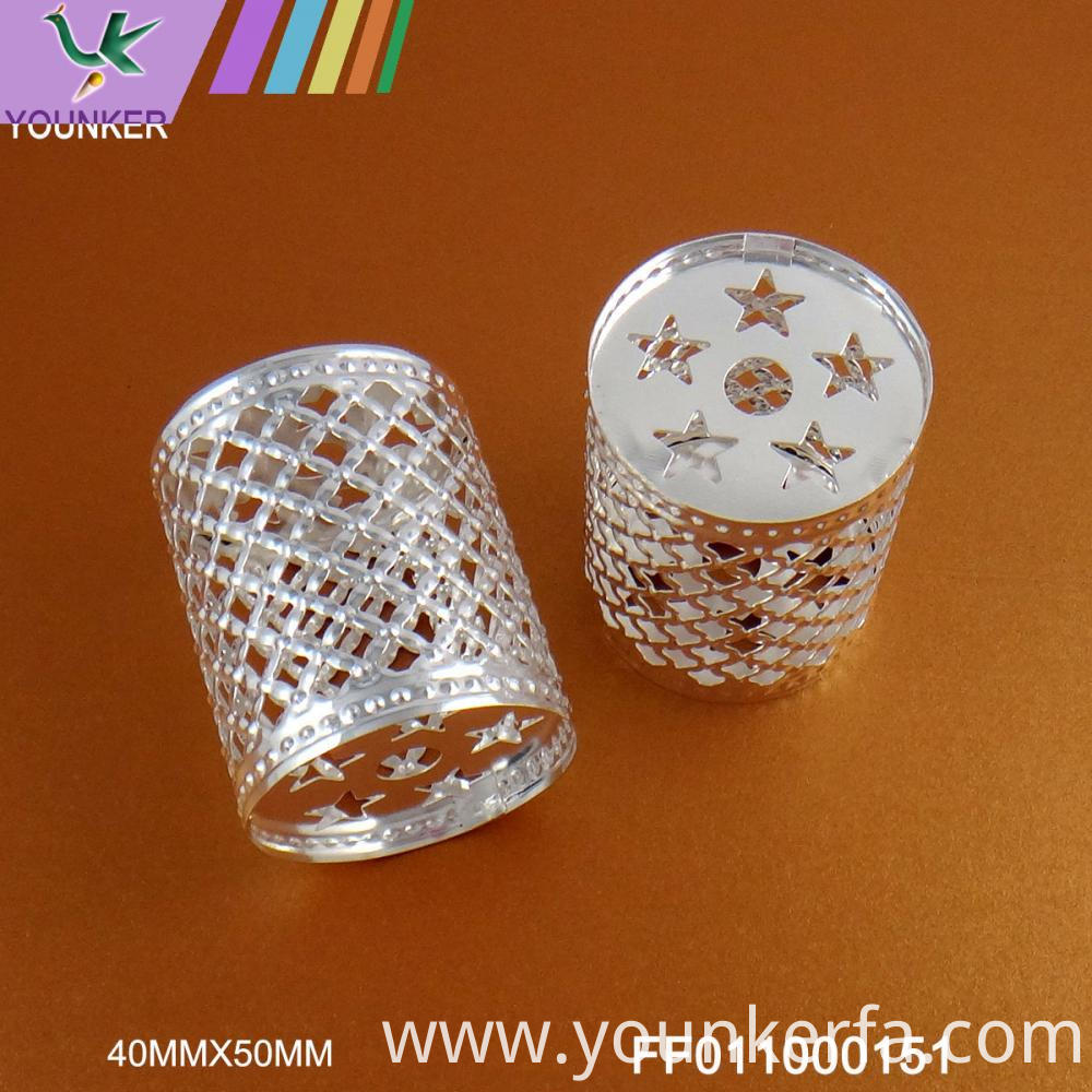 Silver Color Metal Ornamen