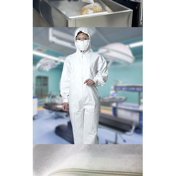 Disposable Coveralls Safety Clothing  Isolation Gowns