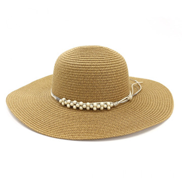 Retro lifeguard hat summer beach paper straw hat