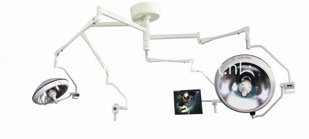 Double head camera lamp