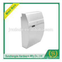 SZD SMB-005SS high quality wall mounted stainless steel mailbox with low price
