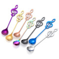 Creative Music shaped Stainless Steel Coffee Spoon Metal