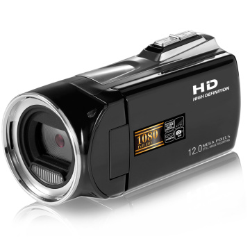 Portable Zoom Vlogging Recorder Full HD 1080P LCD Screen Professional Handheld Digital Camcorder Home 2.7 Inch 8X Video Camera