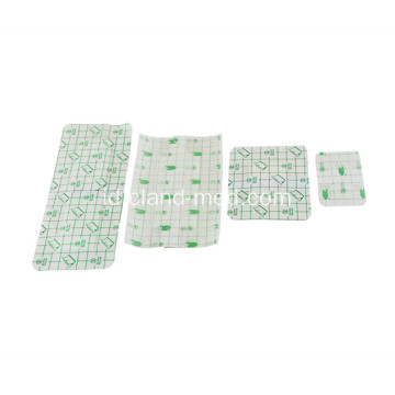 Waterproof Disposable Steril Medical Adhesive PU Luka Dressing