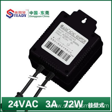 Linear Power Supply 24VAC 72W