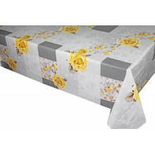 Elegant Inch Round Tablecloth with Non woven backing