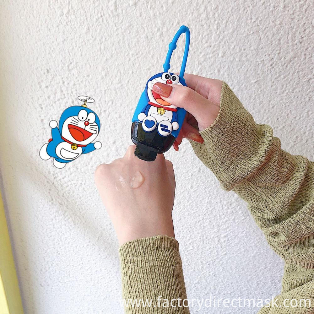 Cartoon Alcohol Portable Hand Sanitizer Can be Hung